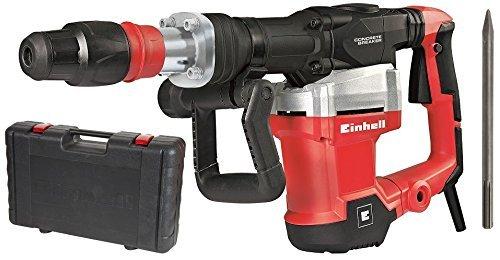 Einhell Abbruchhammer TE-DH 1027 (1500 W, 32 J, Schlagzahl 1900 min-1, SDS Max Aufnahme, Vibrationsgedämpfter Griff, im Koffer)